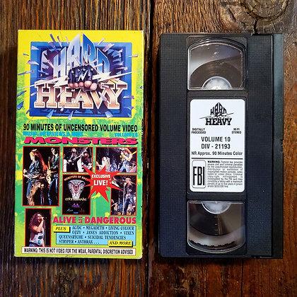 HARD N HEAVY Volume 10 - VHS