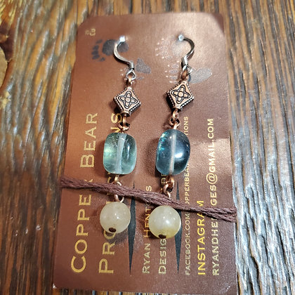 Local Handmade Earings by COPPER BEAR PRODUCTIONS