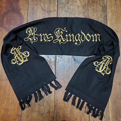 ARES KINGDOM Embroidered Scarf