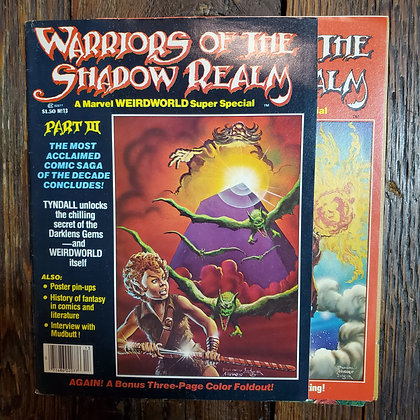 Warriors of the Shadow Realm #13 - Vintage Magazine