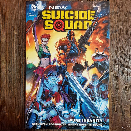 NEW SUICIDE SQUAD Pure Insanity - Graphic Novel #1
