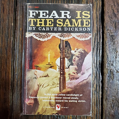 Dickson, Charles : FEAR IS THE SAME - Vintage Paperback