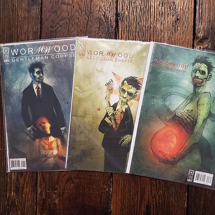 WORMWOOD Gentleman Corpse #1, 2 ,3 Comic Books
