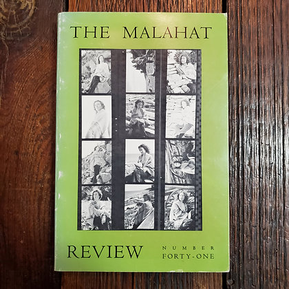 THE MALAHAT REVIEW #41 : Margaret Atwood A Symposium - 1977 Softcover