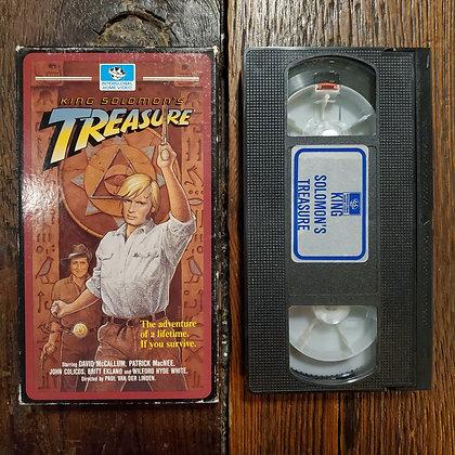 KING SOLOMONS TREASURE - Rare VHS