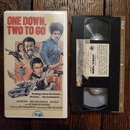 ONE DOWN, TWO TO GO - Rare VHS