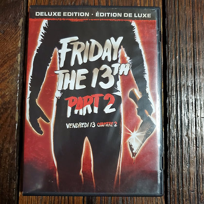 FRIDAY THE 13th PART 2 - DVD