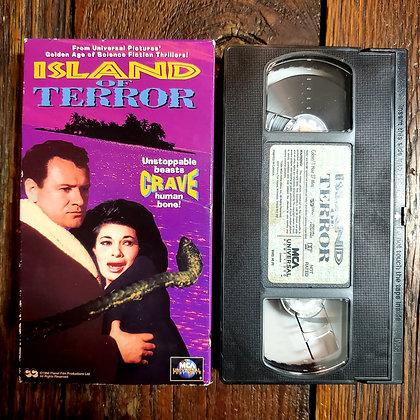 ISLAND OF TERROR - VHS