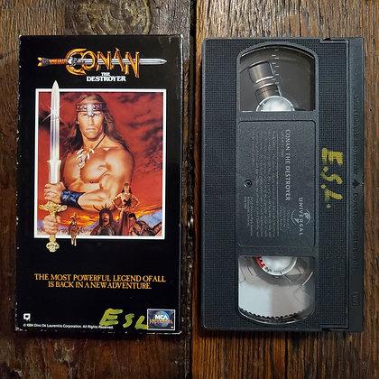 CONAN THE DESTROYER - VHS