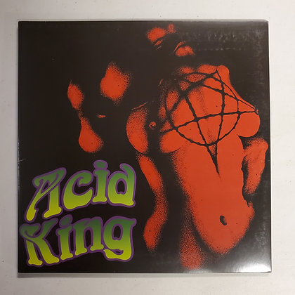 ACID KING : Down With The Crown / Free... - WhiteBlueRed Vinyl LP