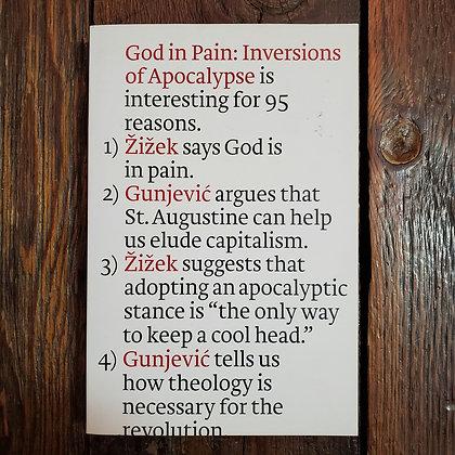 Žižek & Gunjević : GOD IN PAIN - Softcover Book