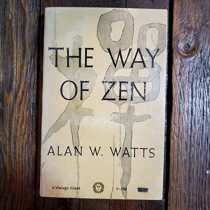 Watts, Alan W : THE WAY OF ZEN - Softcover Book