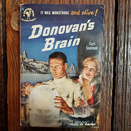 Siodmak, Curt : DONOVAN'S BRAIN - Vintage Paperback