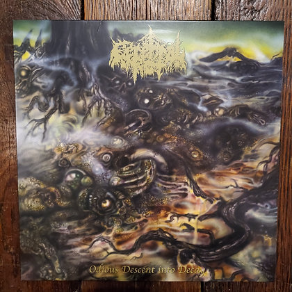 CEREBRAL ROT : Odious Descent Into Decay - (NEW) Vinyl LP