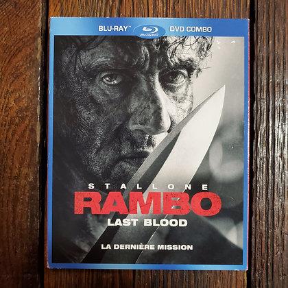 RAMBO Last Blood - Bluray + DVD (2 discs/ Slipcase)