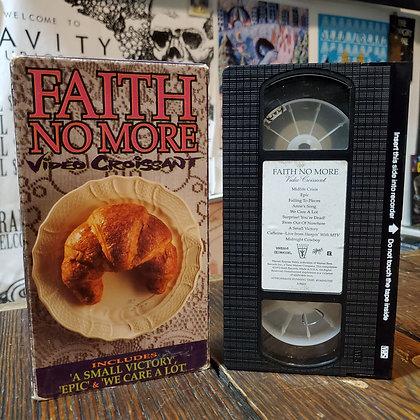 FAITH NO MORE Video Croissant VHS