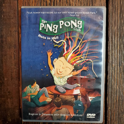 THE PING PONG CLUB : ROTS IN HELL DVD