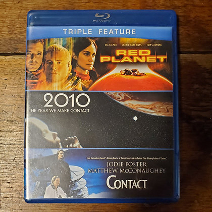 Contact / 2010 / Red Planet : Triple Feature - Bluray (3 Discs)