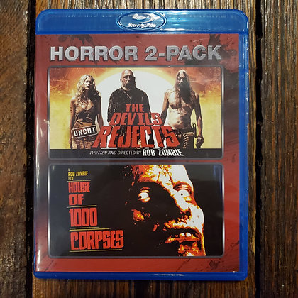 Double Bluray of HOUSE OF 1000 CORPSES + THE DEVILS REJECTS