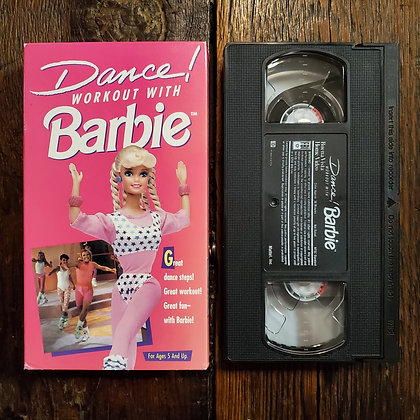 DANCE! Workout with BARBIE - VHS