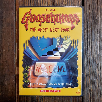 GOOSEBUMBS THE GHOST NEXT DOOR DVD