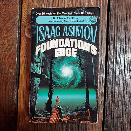 ISAAC ASIMOV : Foundation's Edge - Paperback Book