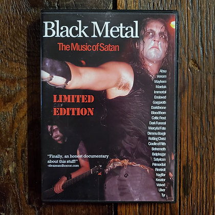 BLACK METAL The Music of Satan - DVD