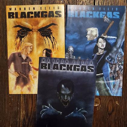 Warren Ellis BLACKGAS - 3 Comic Pack