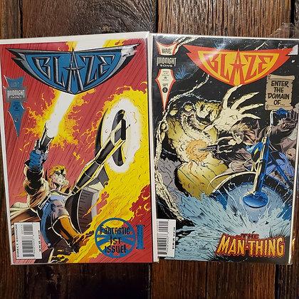 BLAZE #1 & #2 - Comic Book 2 Pack