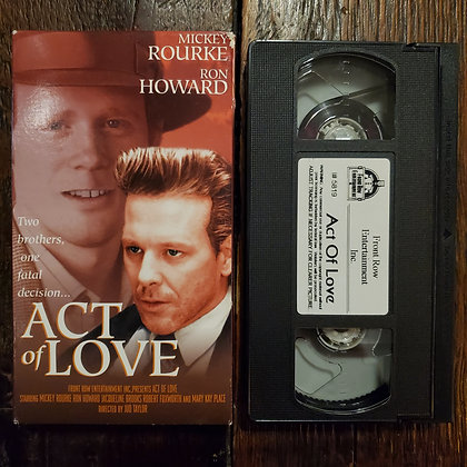 ACT OF LOVE - VHS
