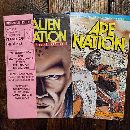 ALIEN NATION / APE NATION Comics