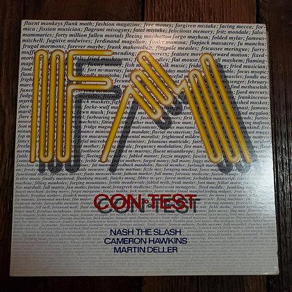 FM : Con-Test - Vinyl LP (R.I.P. Nash The Slash)