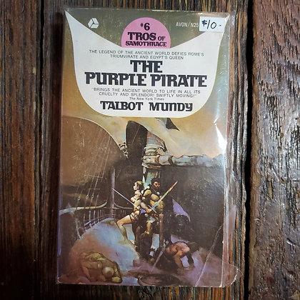 Mundy, Talbot : THE PURPLE PIRATE - Vintage Paperback