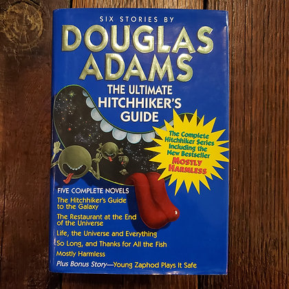 Adams, Douglas : THE ULTIMATE HITCHHIKER'S GUIDE - Hardcover Complete Series