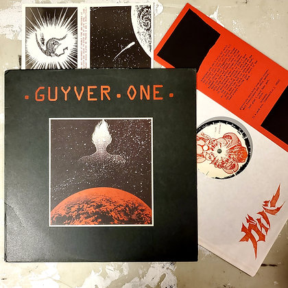 GUYVER ONE : Obsessed With  - Vinyl LP (stamped sleeve / cover split)