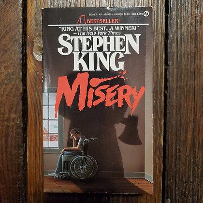 King, Stephen : MISERY - Paperback