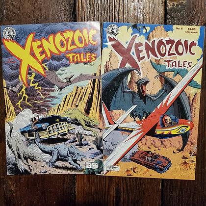 XENOZOIC TALES - Comic Book 2 Pack Deal
