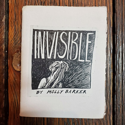 INVISIBLE By Molly Barker - ZINE