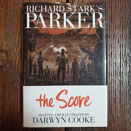 Richard Stark's Parker : THE SCORE illustrated by Darwyn Cooke - Hardcover Comic