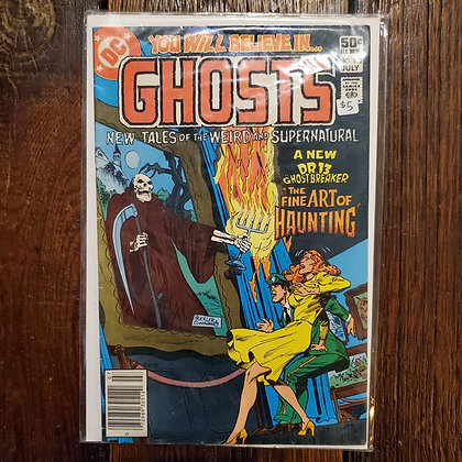 GHOSTS #102 - Vintage Comic Book