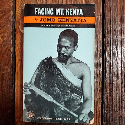 Kenyatta, Jomo : FACING MT. KENYA - 1965 Paperback (Reader Condition)