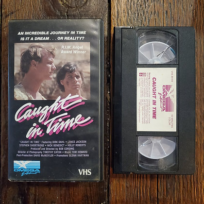 CAUGHT IN TIME - VHS