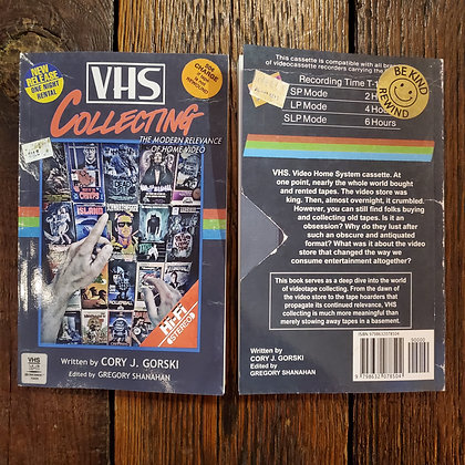Gorski, Cory J. : VHS COLLECTING - NEW! Softcover Book