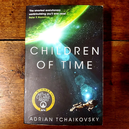 Tchaikovsky, Adrian : CHILDREN OF TIME - Softcover Book