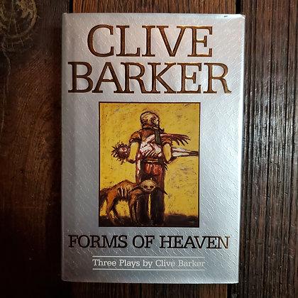 Barker, Clive : FORMS OF HEAVEN - 1996 Hardcover (Remainder marked)
