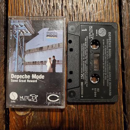 DEPECHE MODE : Some Great Reward - Cassette Tape