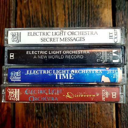 ELECTRIC LIGHT ORCHESTRA - Cassette Tape 4 pack