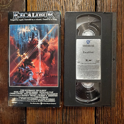 EXCALIBUR - VHS