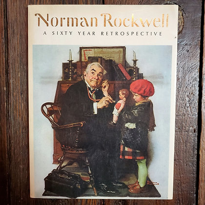 NORMAN ROCKWELL : A Sixty Year Retrospective - Softcover Art Book