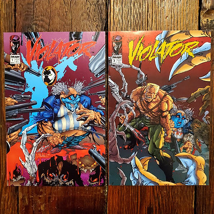 VIOLATOR #1 &  #2 - 1994 Comic Books